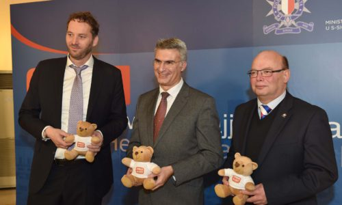Minister For Home Affairs And National Security Carmelo Abela Launches The Amber Alert System In Malta, Where Malta Will Be Joining The European Child Rescue Alert Platform Malta Police Headquarters
